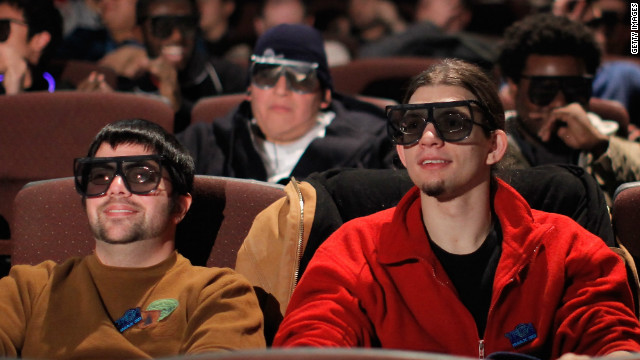 Fans await the IMAX 'Tron: Legacy' screening on December 16, 2010 in New York City