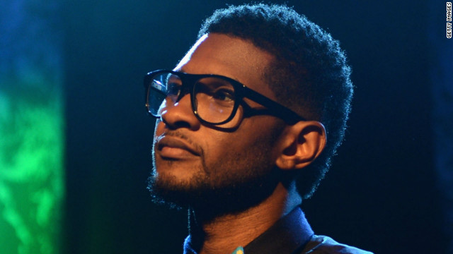 Usher was married for two years to Tameka Raymond, the mother of  Kile Glover.
