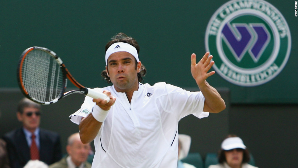 Grass was not Gonzalez's favorite surface and he struggled at Wimbledon, reaching the quarterfinal stage just once in 2005.
