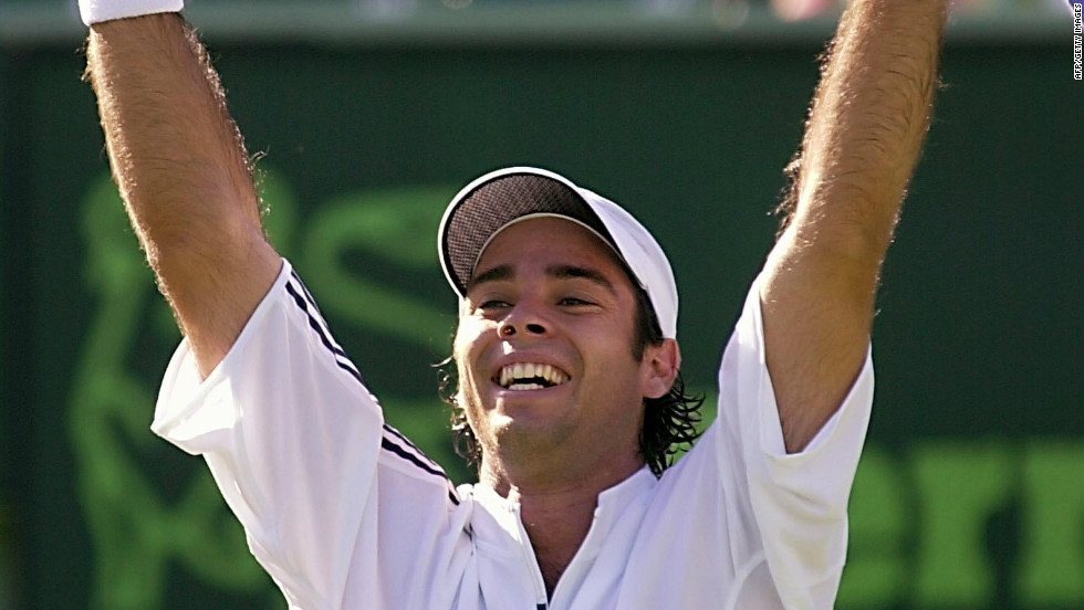 Gonzalez turned pro in 1999 but came to prominence in the early 2000s, when he won the first of his 11 ATP Tour titles. He also beat some big names, including 14-time grand slam champion Pete Sampras.