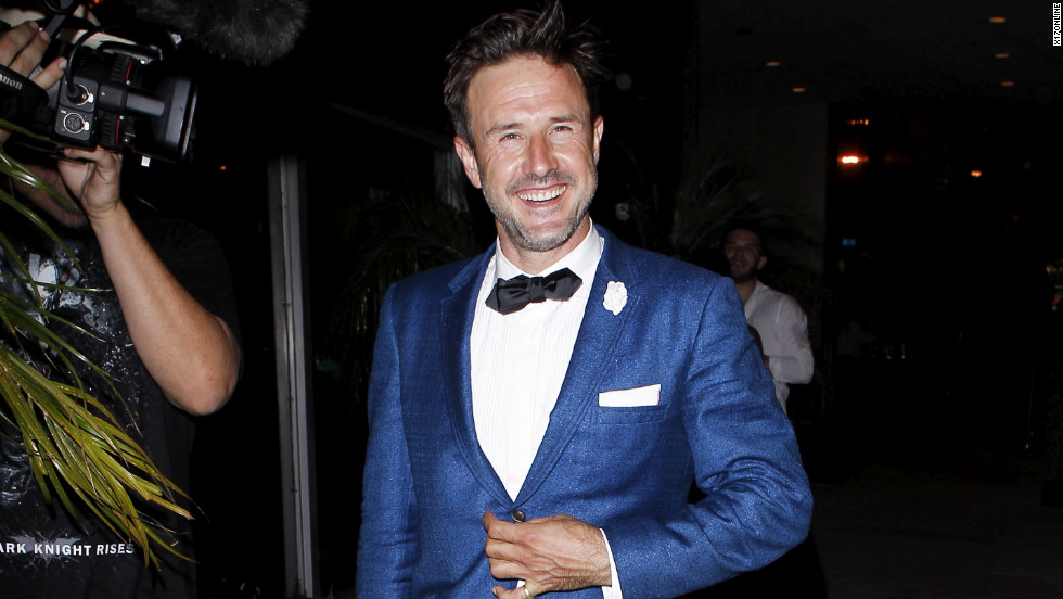 David Arquette dresses to the nines.