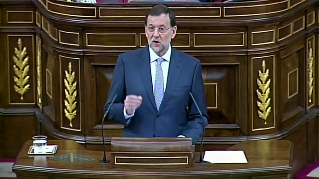 Spanish PM speaks on the economy