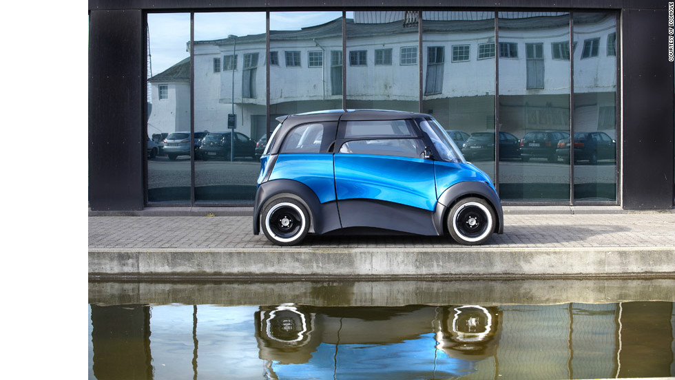 The design is certainly head-turning, but it's the eye-catching 500-mile (800-kilometer) range this electric car can achieve which could really set it apart from the competition, say its Danish developers.