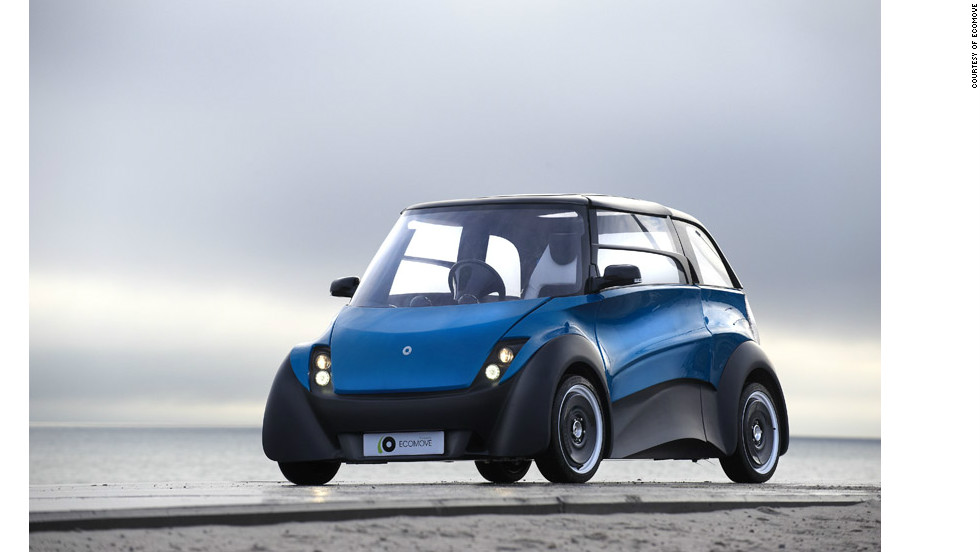 The QBEAK weighs 425 kilograms without batteries and has a top speed of 120 kph (75 mph).