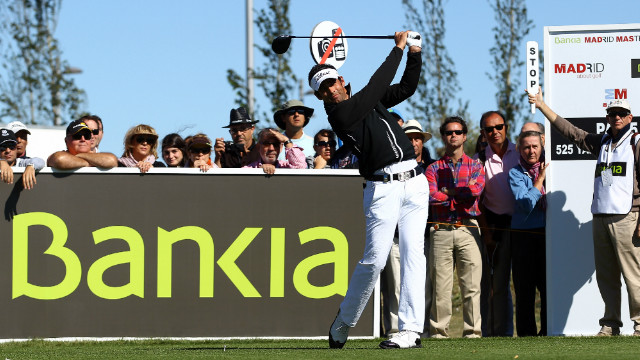 Lee Slattery will be unable to defend his 2011 Madrid Masters title following sponsor Bankia's withdrawal.