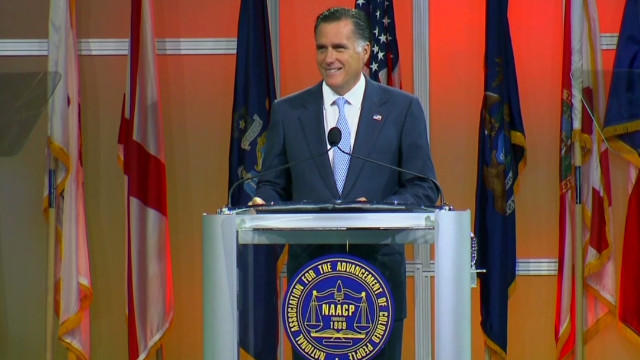 Romney gets booed during NAACP speech