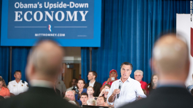 Republican Presidential candidate Mitt Romney accused the Obama administration of shipping American jobs.