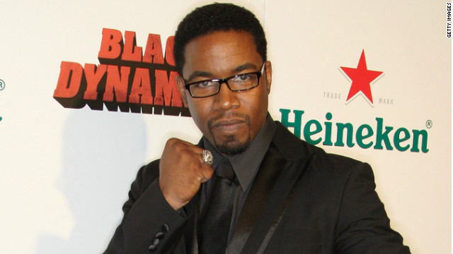"Michael Jai White, shown at the ""Black Dynamite"" premiere in 2009, reprises his role in the animated series."