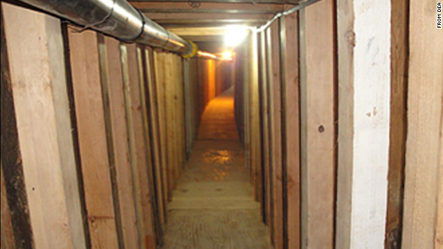 DEA Probe Leads to Discovery of Cross-Border Drug Tunnel in San Luis, AZ Passageway Stretches the Length of 2 Football Fields