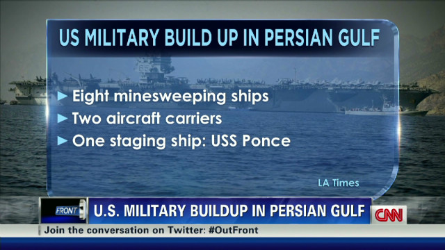 U.S. Navy presence grows in Persian Gulf