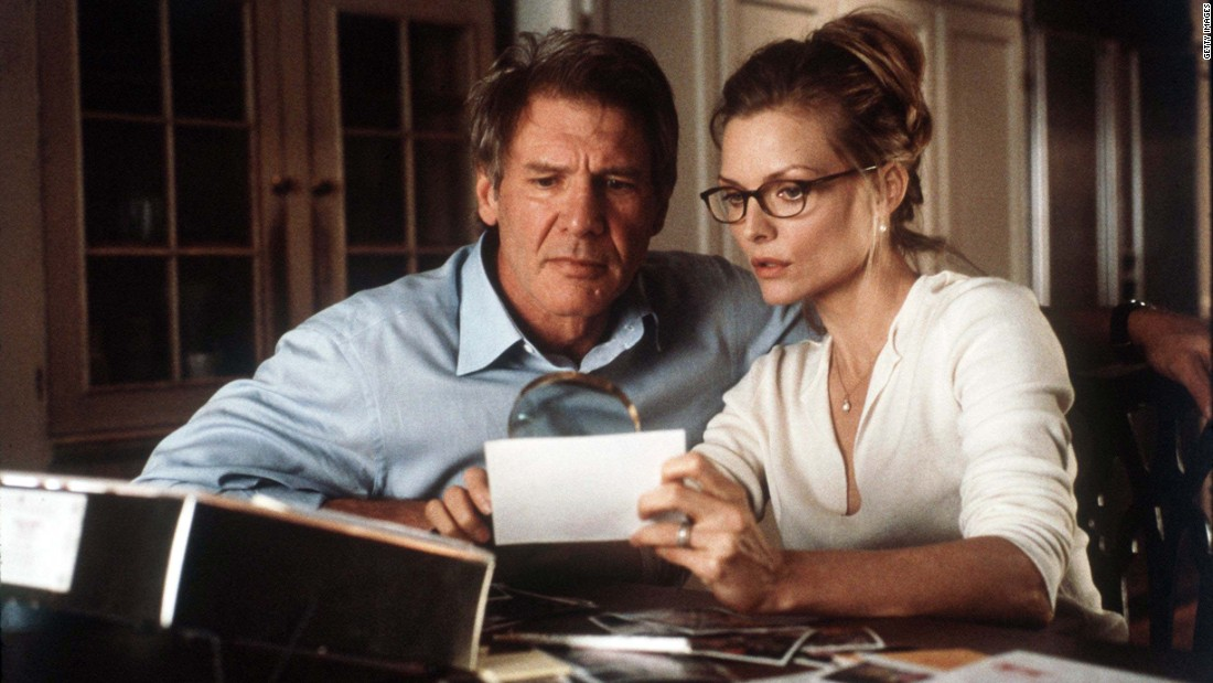 "Ford starred with Michelle Pfeiffer in Robert Zemeckis' 2000 horror film, ""What Lies Beneath."""