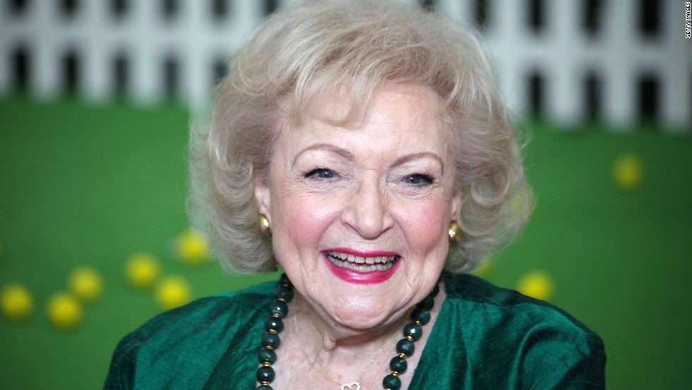 Actress Betty White, her career resurgent and with new status as a gay icon, endorsed Barack Obama in 2012.