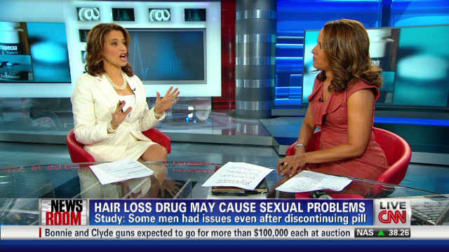 Hair loss drug may reduce libido