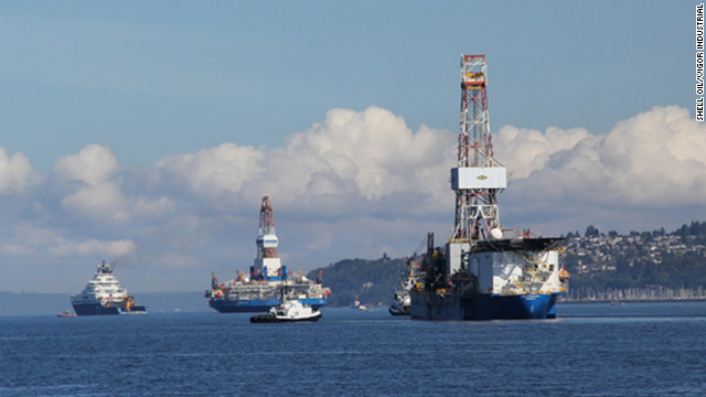 Shell's arctic drilling underway