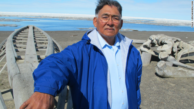 Edward Itta, former mayor of Alaska's North Slope Borough, campaigned hard against oil drilling. Now his views have softened.