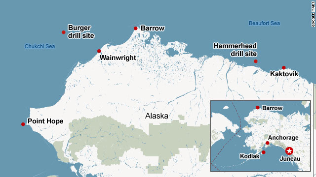 Eskimos on edge over drilling in Arctic