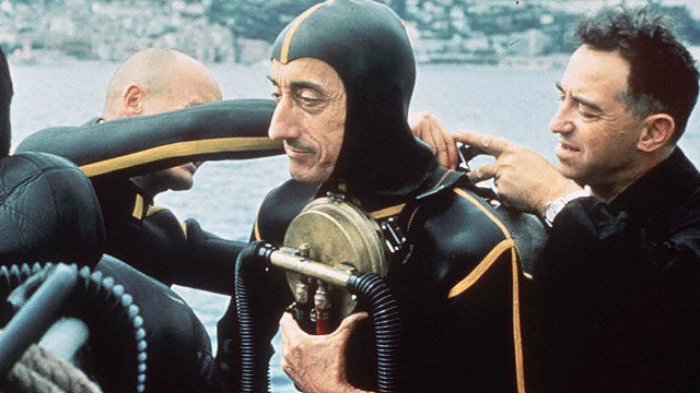 Deep diving with Jacques Cousteau