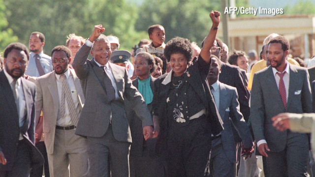 Securing the release of Nelson Mandela