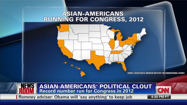Asian Americans' political clout