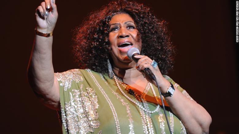 Seriously ill Aretha Franklin visited by Stevie Wonder and Jesse Jackson