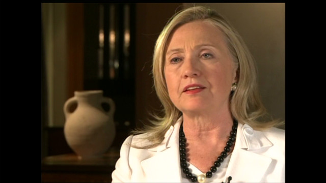 Clinton says Assad regime won't survive