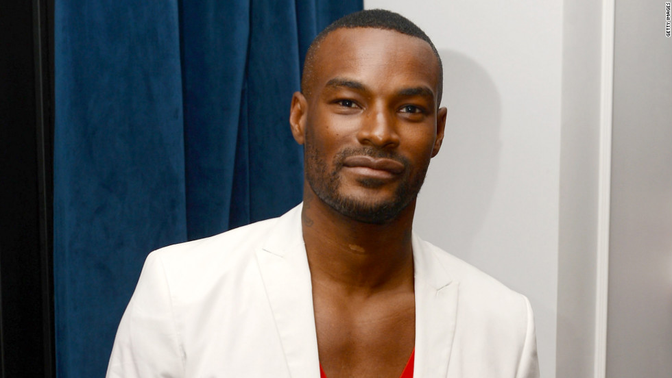Tyson Beckford attends a party in New York City.