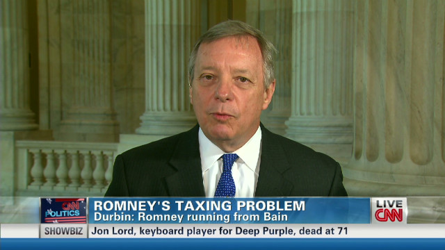 Durbin: 'Wrong' to condemn Solyndra loan