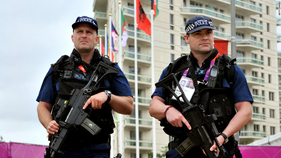 Armed military personel have been called in to beef up security after the Olympics' private security contractor failed to produce enough staff for the Games.