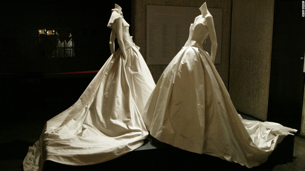 The Whitney Museum of American Art housed some of Vera Wang's bridal collection in a 2003 exhibit.
