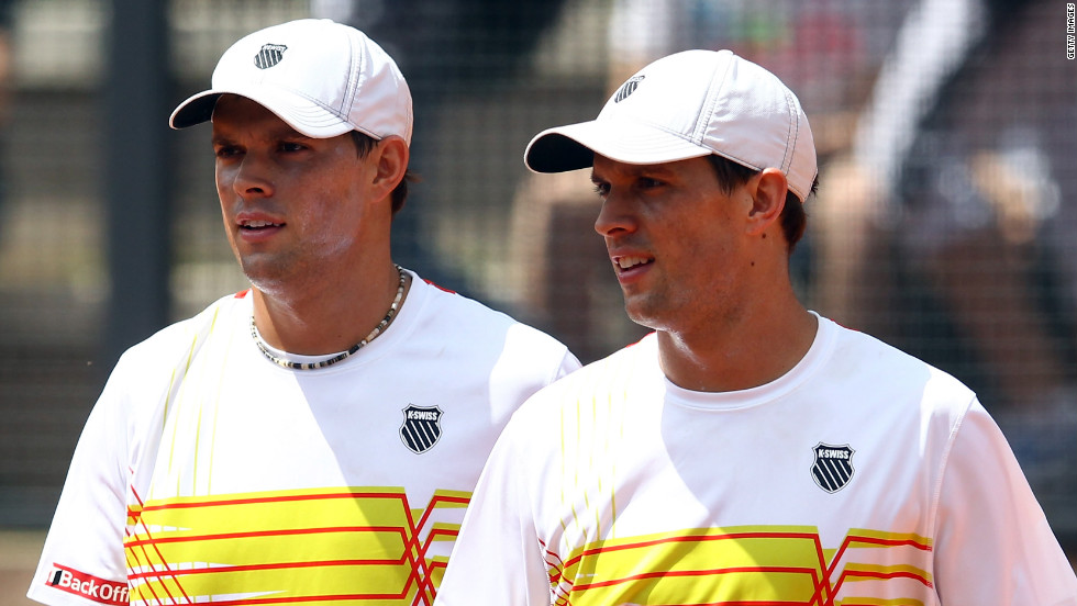 "Having held the Association of Tennis Professionals No. 1 doubles spot for more than 270 weeks, twins Bob and Mike Bryan are considered some of the best doubles tennis players in the world and are set to compete in the London 2012 Summer Olympic Games. But these brothers don't just make a racket on the tennis courts. As founders of the Bryan Bros. Band, these guys make music in their free time -- Bob plays keyboard; Mike plays guitar and drums. The twins, who have appeared on the cover of ""Making Music Magazine,"" released their first album, ""Let It Rip,"" in 2009, along with the band's lead singer David Baron."
