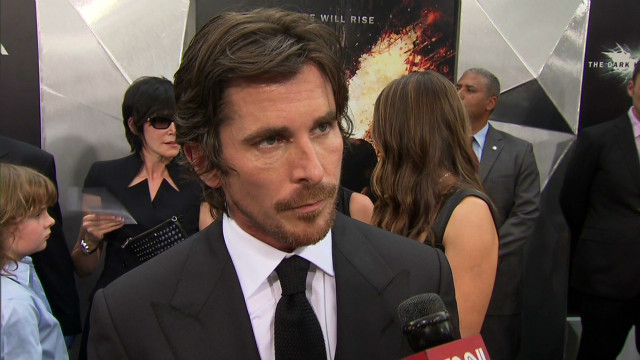 'Dark Knight' stars at premiere
