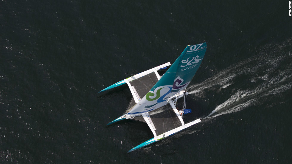 "The ""Musandam-Oman Sail"" is a trimaran and was one of five new 70 feet multifhull yachts to compete in the Krys Ocean Race, which has attracted some of the biggest names in offshore racing."