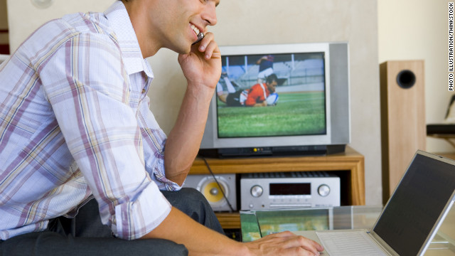 A recent study found that Americans are using their cell phones more often to augment TV-watching experiences.