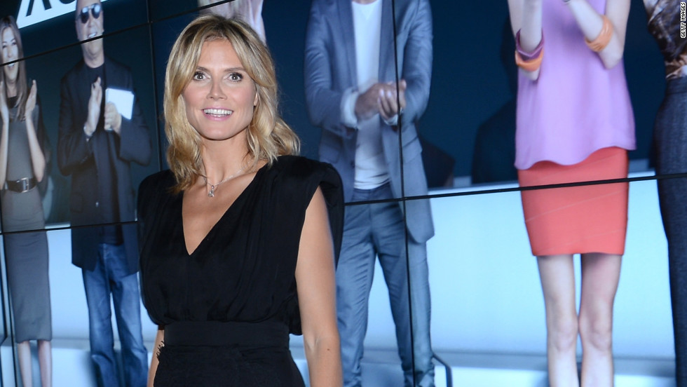"Heidi Klum gears up for the new season of ""Project Runway."""