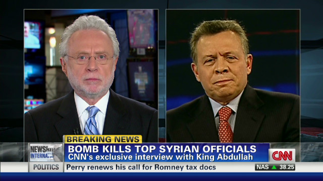 Exclusive: King Abdullah talks Syria
