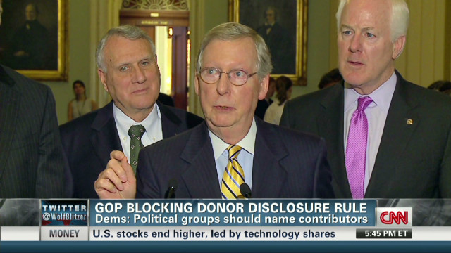 GOP: Donor disclosure act omits unions