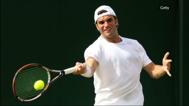 Since the start of the Arab Spring in Tunisia, Malek Jaziri has risen almost 300 places in the men's tennis rankings.