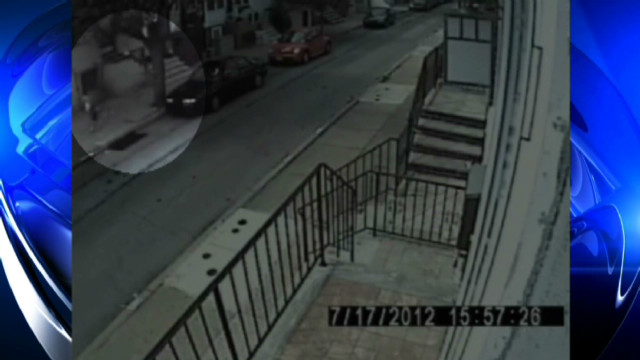 Attempted child abduction caught on tape