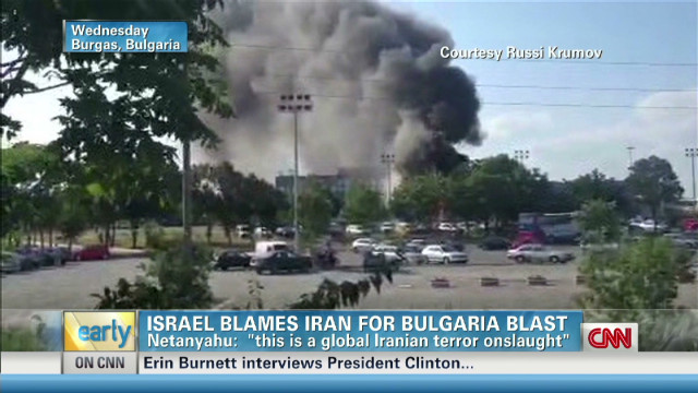 Iran to blame for Bulgaria bus blast?