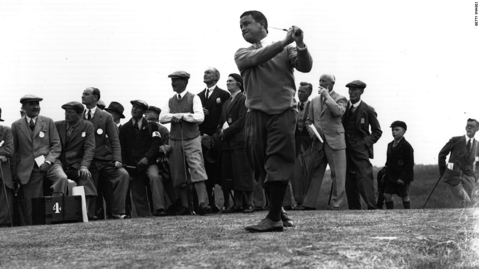 His successes helped restore the tournament's prestige. Gene Sarazen won the British Open in 1932 during a period of American dominance but he was the sole U.S. entrant in 1958, long past his prime.