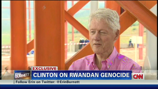 Bill Clinton on Rwandan Genocide