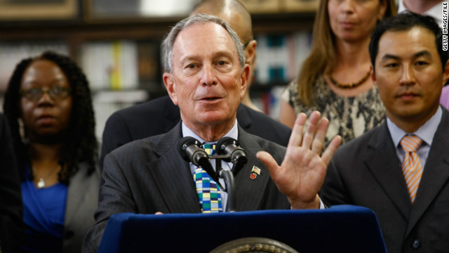 Bloomberg blasts politics on guns