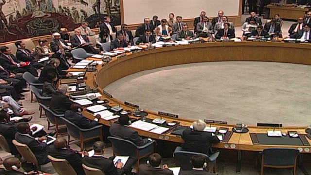Syrian resolution vetoed at UN