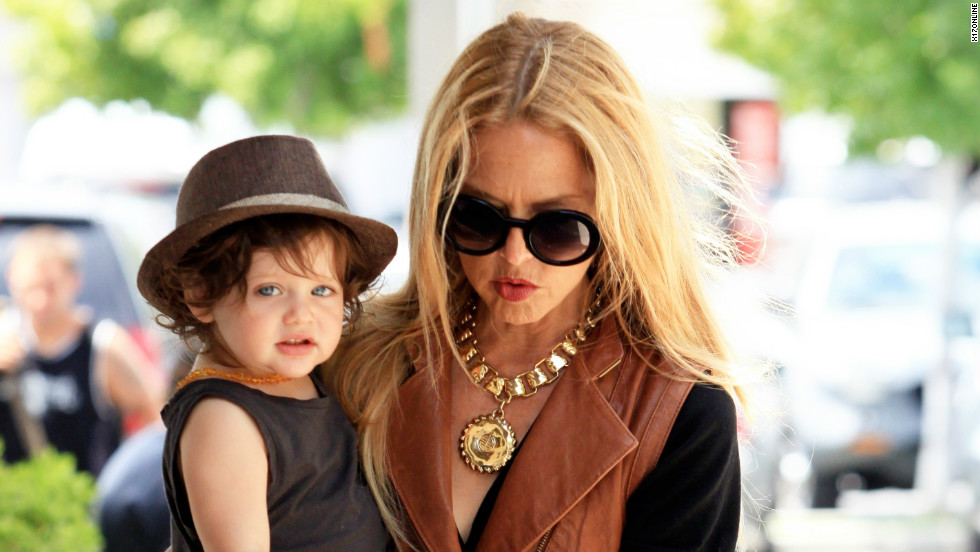 Rachel Zoe steps out with son Skyler on July 19.