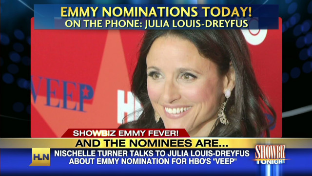 Julia Louis-Dreyfus nominated for Emmy