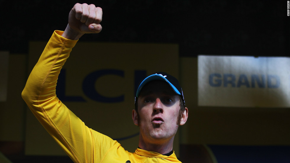 Wiggins picked up the first Tour de France stage victory of his career this year, winning 41.5km individual time trial between Arc-et-Senans and Besancon to take control of the race for yellow.