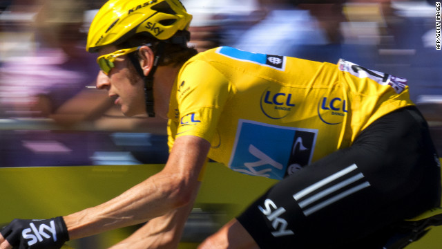 Wiggins 1st Briton to win Tour de France