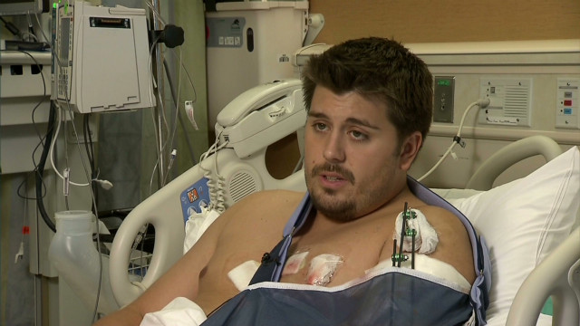 Wounded survivor recalls carnage