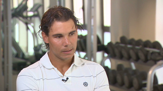 Nadal reveals heartache at Games