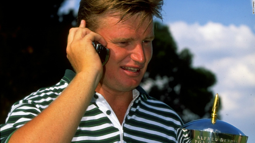 Els received a congratulatory telephone call from Mandela after winning the 1999 South African PGA Championship in Johannesburg.